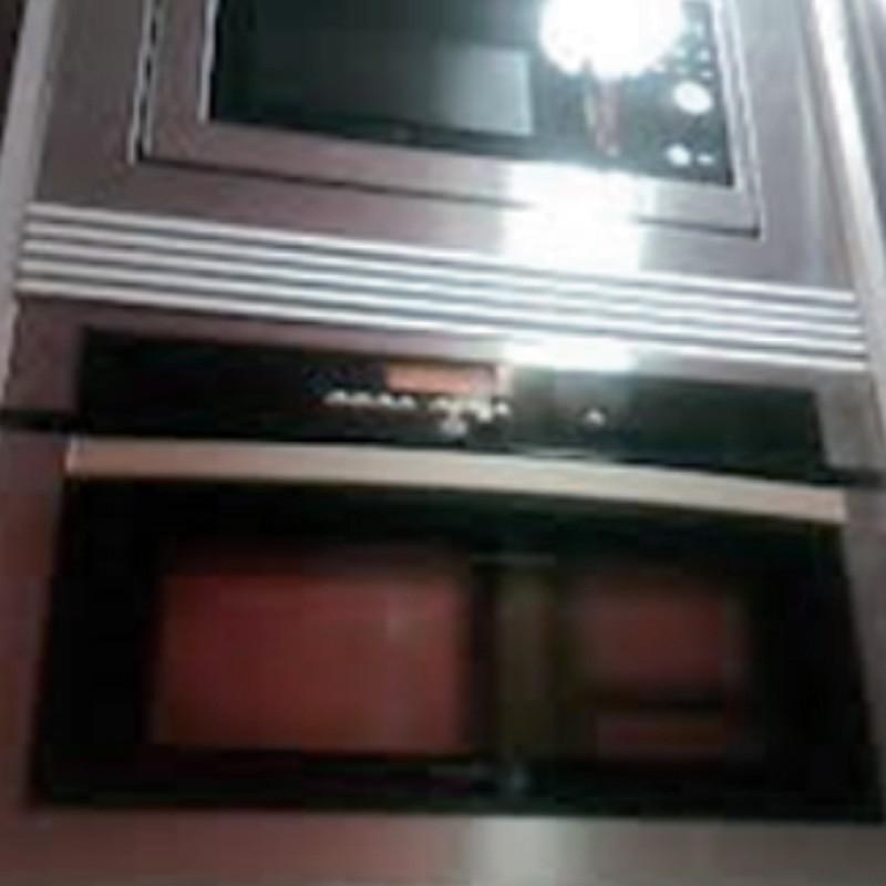 600 X 122 Rejilla para mueble cocina acero inoxidable.