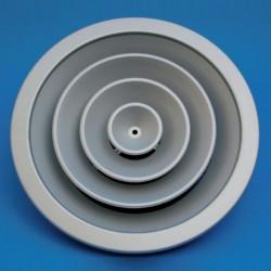 Rej.A/C. difusor circular...